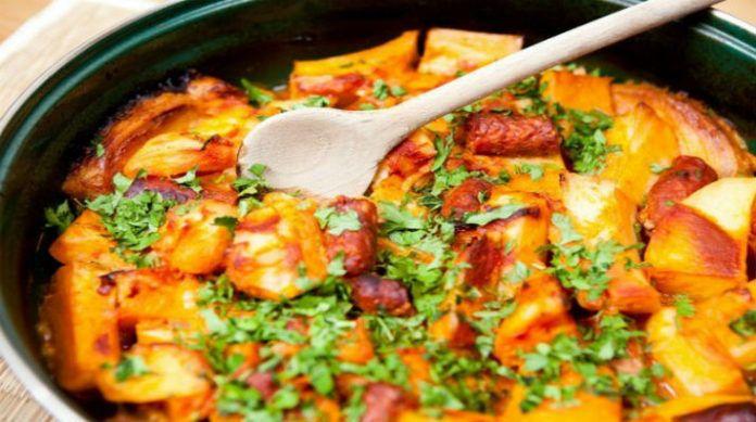 Самая вкусная жареная картошка с охотничьими колбасками