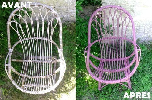fauteuils-relookés www.tambouille.fr