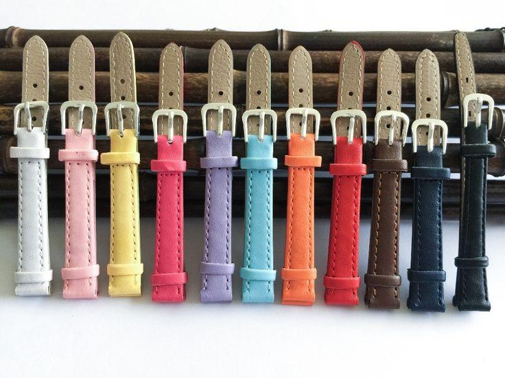 Plain weave PU lederen band Horlogeband 12mm, 14 MM, 16 MM, 18 MM, 20 MM horloge band 2016 nieuwe Snoep kleuren klok Bandjes voor horloges in 1. want het is handmatige meting, de grootte zal 0,2-10mm fout.2. te wijten aan de verschillende display, de kleur zal e van horlogebanden op AliExpress.com | Alibaba Groep