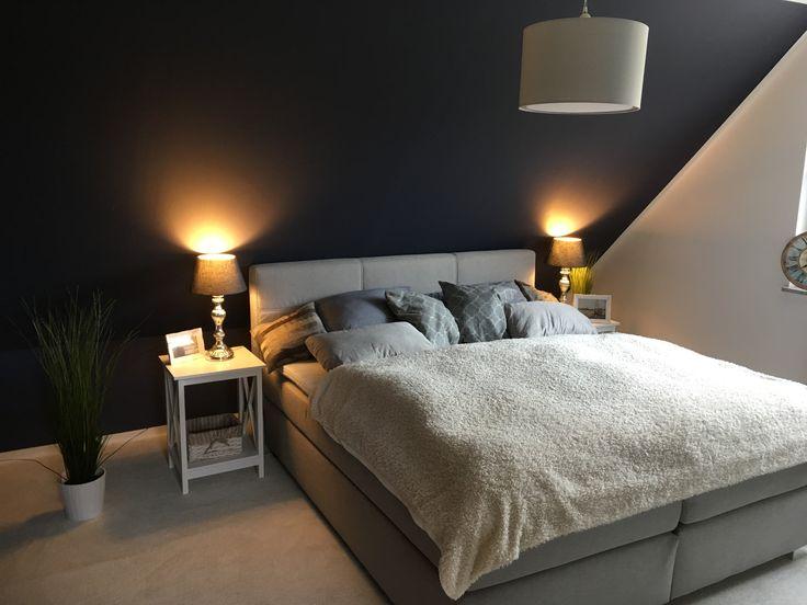 13 besten Wandfarben Bilder auf Pinterest Wandfarben, Snuggles - schlafzimmer blau grau