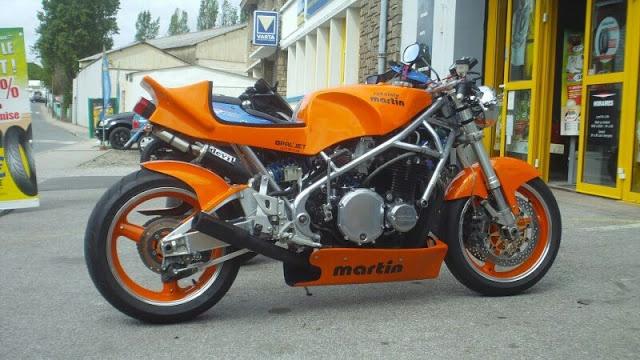 Martin Cafe Racer - found on Cafe Racer Culture