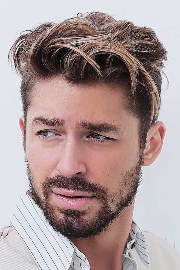 Hair Dye Guide For Men Who Want To Color Their Mane Menshaircuts In 2020 Dyed Hair Men Men Hair Highlights Men Hair Color
