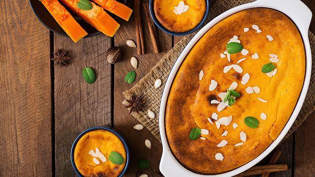 قرع العسل حلوة Recipe In 2021 Easy Pumpkin Pie Custard Recipes Pumpkin Custard Pie Recipe