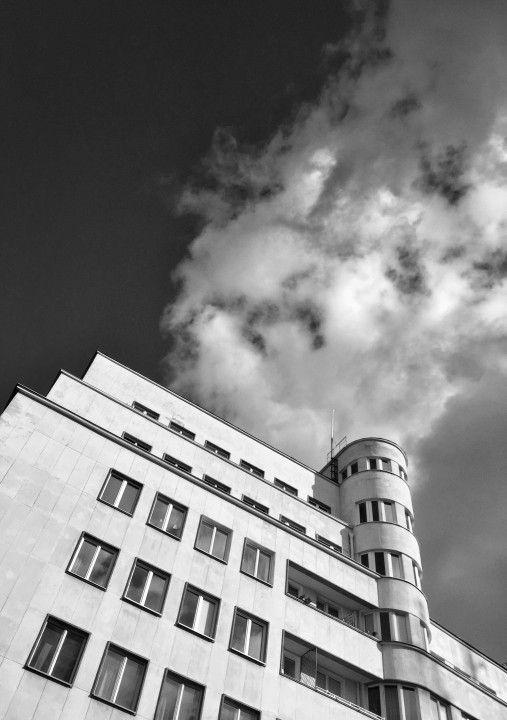 Zakochany w modernizmie  Gdynia - Bankowiec ul.3 Maja fot.Dariusz Sobiecki