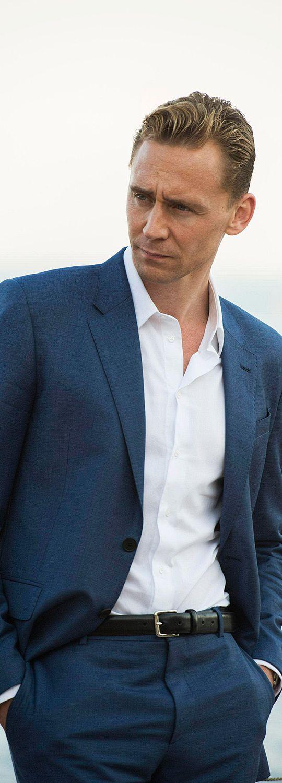 """""""White Shirt Wednesday"""". Tom Hiddleston as Jonathan Pine in The Night Manager. Full size image: https://i.imgbox.com/hQePnS4E.jpg (Source: Spoiler TV) #WhiteShirtWednesday"""