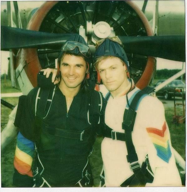 Keith Scott and Bryan Adams