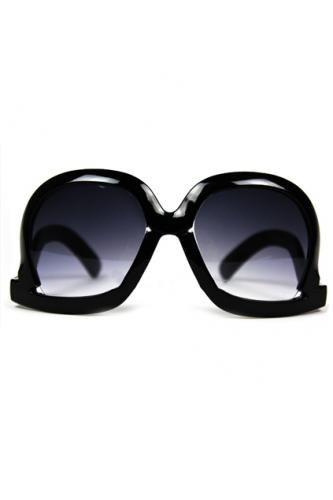 Inverted Frames Graduated Sunglasses