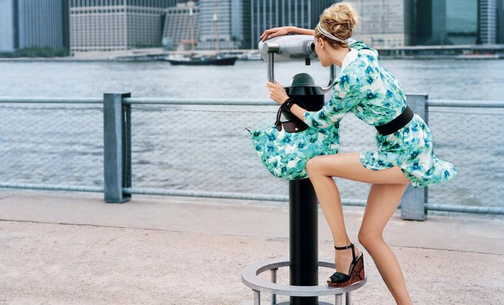 Ad Campaign: Longchamp Season: Spring/Summer 2012 Models: Coco Rocha and Liisa Winkler Photography: Dane Shitagi