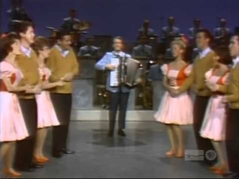 Lawrence Welk Pennsylvania Polka... Had to watch with my aunt and grandma when I stayed at their house.