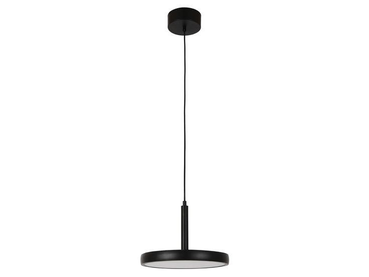 LEDlux Bennett 300mm Dimmable LED Pendant in Matte Black