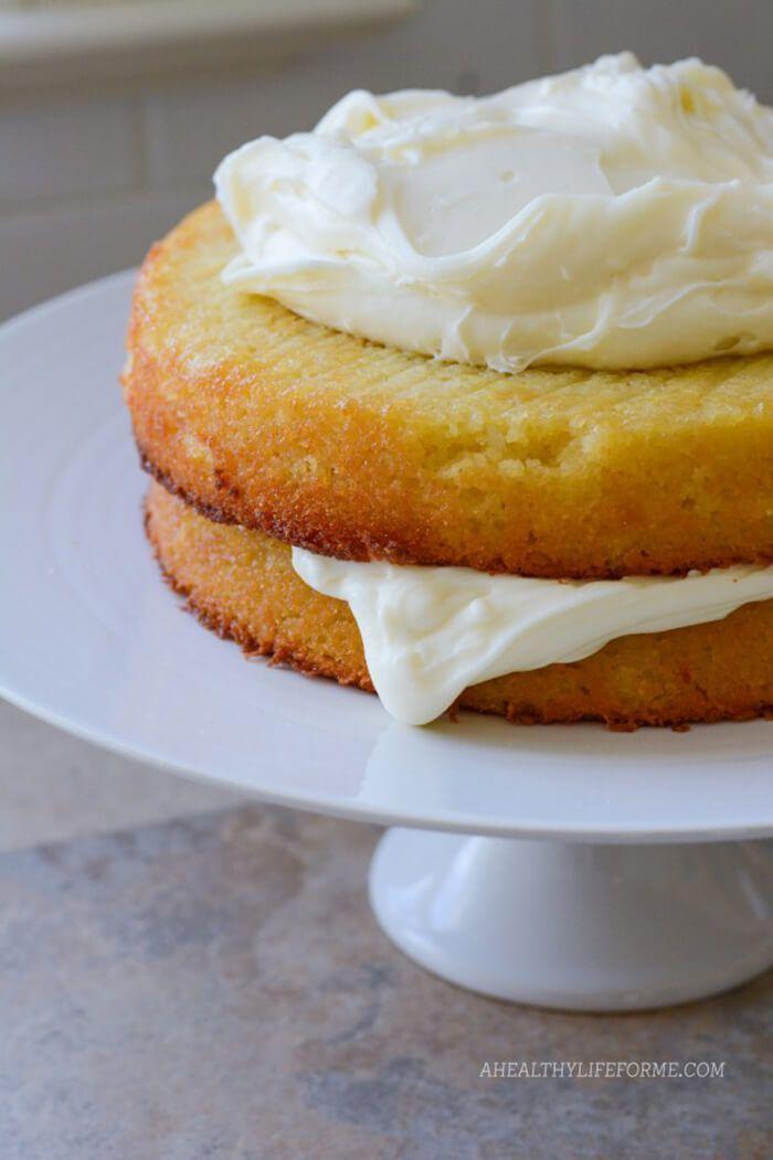 Gluten-Free Almond Coconut Cake