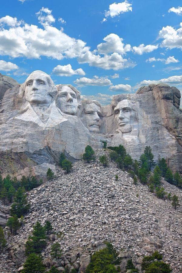 Mount Rushmore National Memorial, South Dakota, USA.
