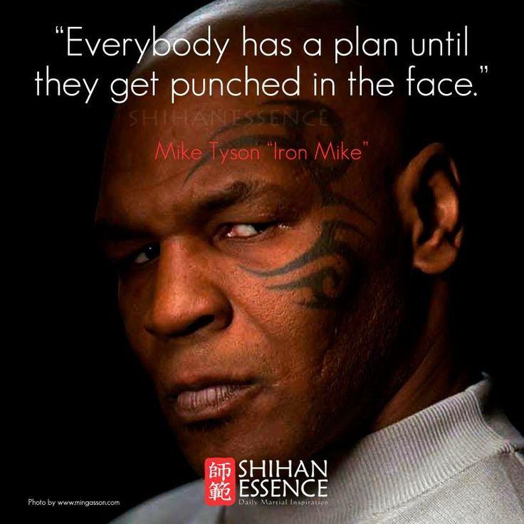 Mike Tyson Quotes: Mike Tyson #McDojo #McDojoLife Www.Facebook.com/McDojoLife
