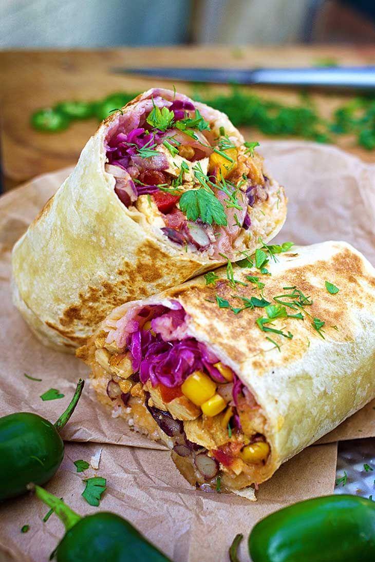 Vegan Burritos Recipe Mexican Food Recipes Recipes Vegan