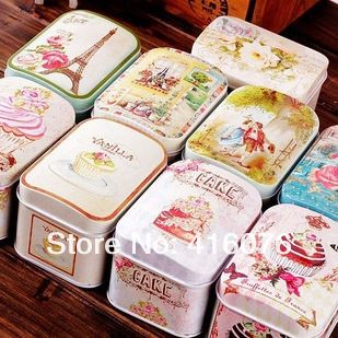 Aliexpress.com : Buy New Arrival! 9pcs/lot Vintage Flower Designs Tin Storage Box Lovers Private Collection Metal Jewelry Box Cake & Candy Case T1227 from Reliable case china suppliers on Viviwood Art & Gift