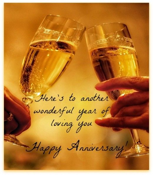To my lovely husband peter 41 years together!! XxxxWedding Anniversary Wish