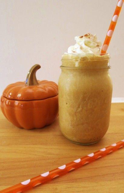 Skinny Pumpkin Spice Frappe: Skinny Pumpkin, 46 Calories, Pumpkin Spices, Coconut Milk, Coffee Drinks, Spices Frappe, 45 Calories, Pumpkin Frappe, Pumpkin Pies