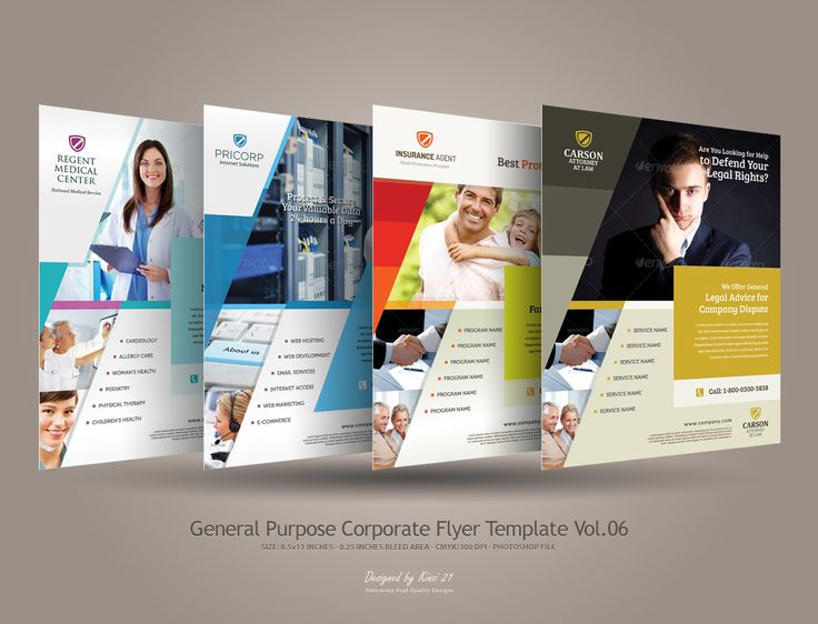 Inspiring Ideas For Insurance: Corporate Flyer Designs Inspiration Corporate Flye