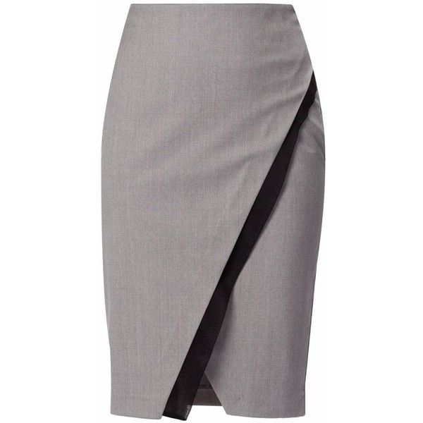 Best 20  Gray Pencil Skirts ideas on Pinterest | Pencil skirts ...