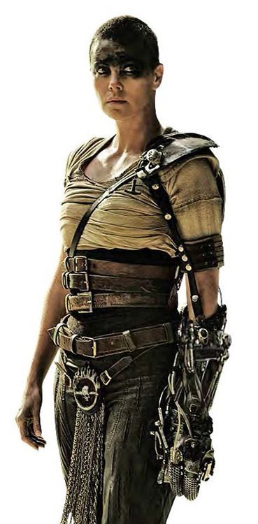 Charlize Theron as Furiosa - Mad Max: Fury Road #MMFR | Mad Max Fury ...