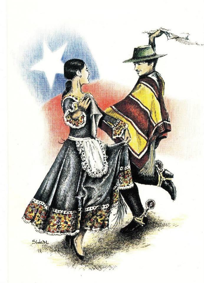 """FBK Chile Música Imagen """"Va el hombre en un enroscado torbellino y la mujer sale a su encuentro, casi se deja coger a la llamada, y luego lo burla con el bulto, sin quitar al hombre la presencia y siguiéndole con su vista amante""""  Gabriela Mistral / Extracto «En recuerdo de Chile, un discurso»"""