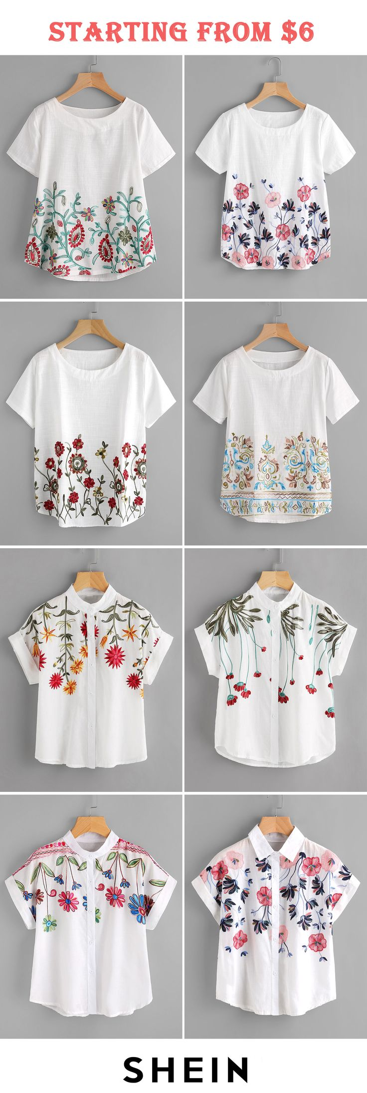 225 Best Images On Pinterest Blouses Recycling And Ankle Jeans Tendencies Tshirt Beach Kid Hitam Xl Embroidery Start At 6