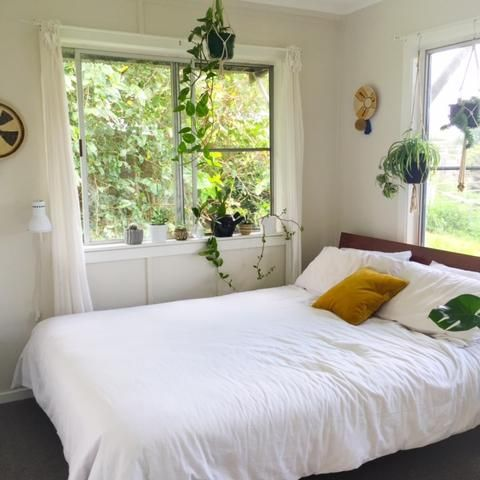 Green plants in the bedroom   The best of the best – Copper and Cross