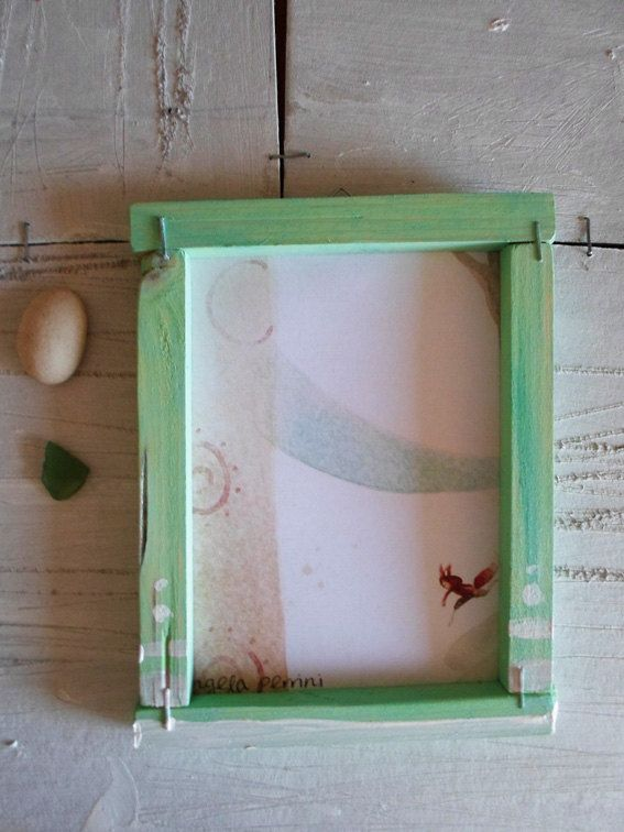Stampe di miei lavori con cornici in legno di angelaperrini, €10.00
