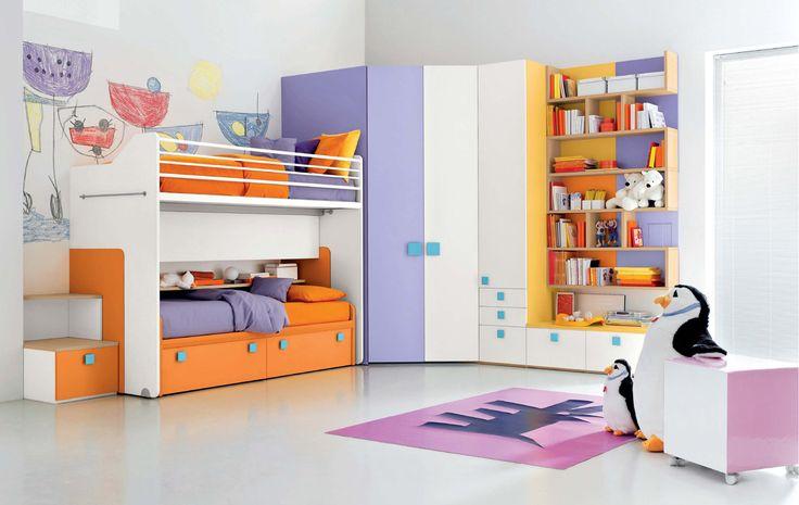 nice Desain Interior Kamar Tidur Anak Keren 2015 Interior Kamar Tidur Anak Simpel
