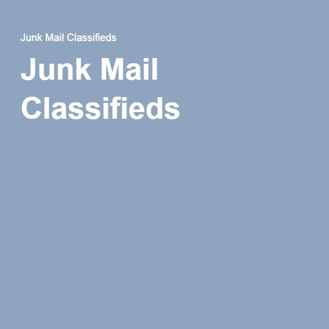 Junk Mail Classifieds