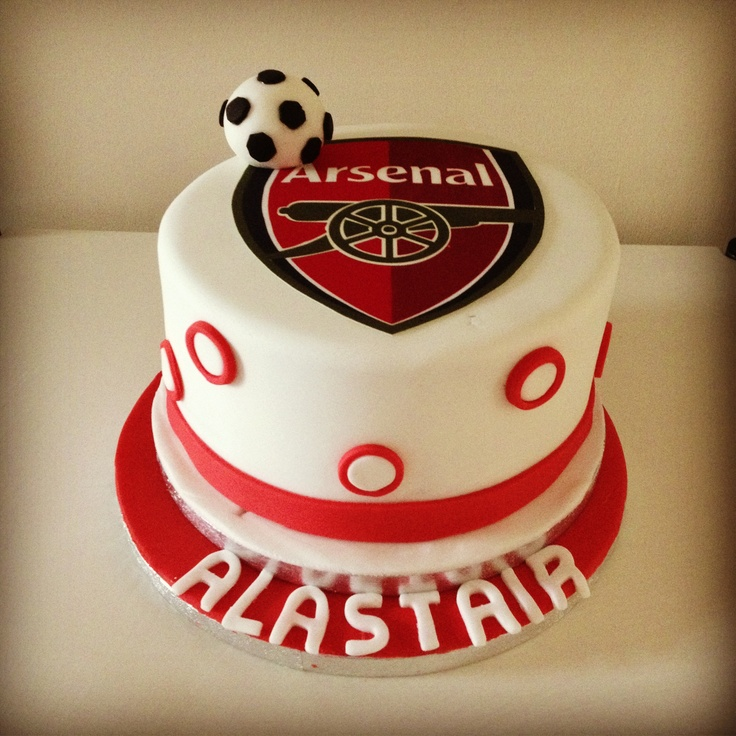 23 best Arsenal images on Pinterest Arsenal Birthday cakes and