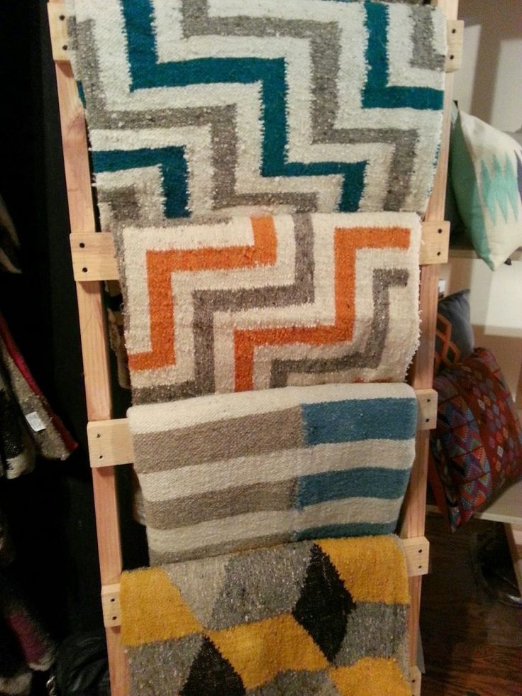 Pedal Loomed Wool Carpets From Guatemala