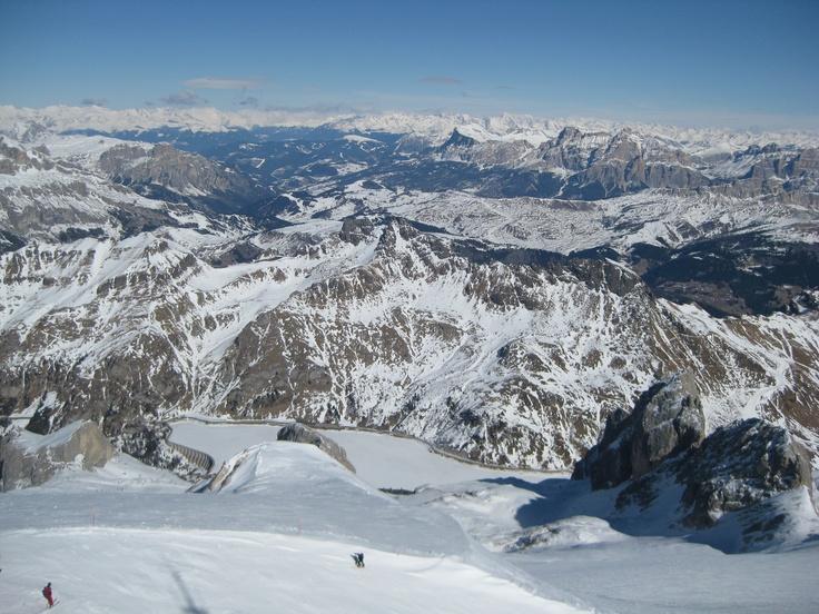 südtirol - auf 3200 M - abfahrt von der marmolata 2012