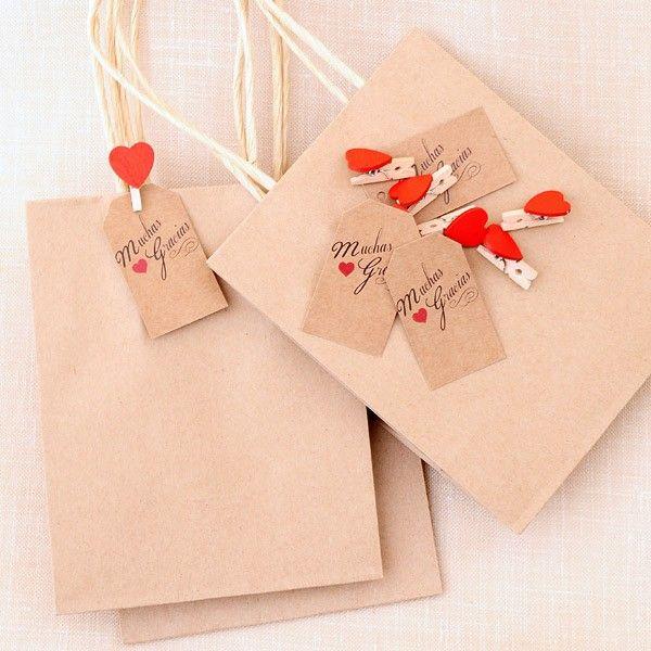 Best 20 bolsas de papel madera ideas on pinterest - Papel de regalo original ...