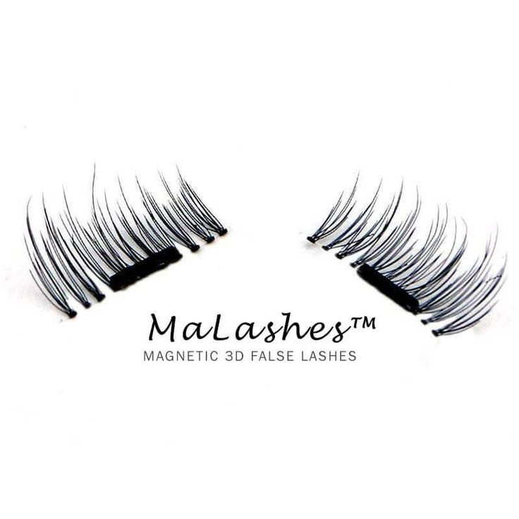 """Who says elegant lashes can't look natural?  MaLashes™ magnetic eyelashes give you lavish length and volume, without the need for adhesives or glues.Save time and money with these stunning yet sophisticated re-usable magnetic lashes that go with daytime or evening wear!  Goes on in seconds (no messy glues or adhesives required) Continuously reusable Ultra lightweight (you won't feel the MaLashes™, but you will feel the compliments!) """"Budge-proof"""" magnetic technology ..."""