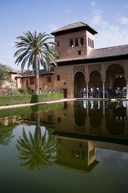 El Partal - Palacios Nazaríes - La Alhambra, Granada   Flickr - Photo Sharing!