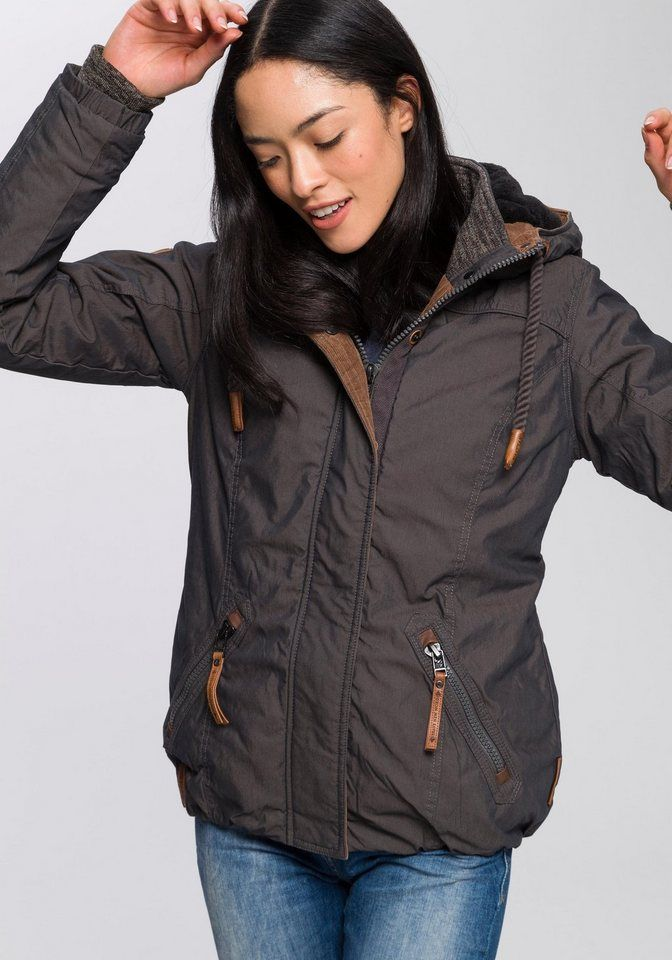 quality design f4da1 b9ae7 naketano Winterjacke mit Kordelzug   Fashion_Sept_01 ...