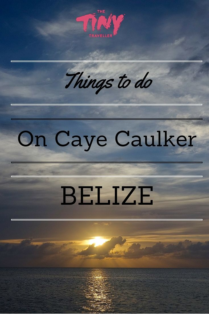 GO SLOW under the Caribbean sun in Belize. Read about Caye Caulker's lazy beach shacks, idyllic palm trees and coruscating turquoise waters.