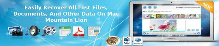 undelete data from Mac Mountain Lion easily with mac data recovery software