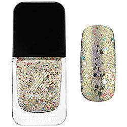 Formula X For Sephora - Sparklers in Light My Fire -  champagne and rainbow 3D glitter  #sephorasweeps