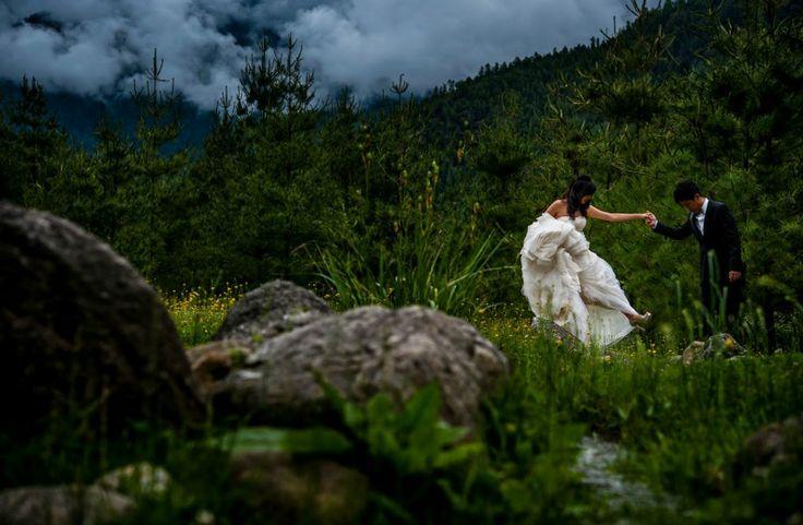 Irene and Jimmy's wedding in Amankora, Bhutan