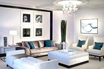 RITZ CARLTON - contemporary - living room - miami - Britto Charette - Interior Designers Miami Florida