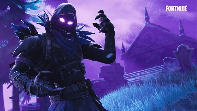 Embedded Video Fortnite Gaming Wallpapers Raven Epic Games
