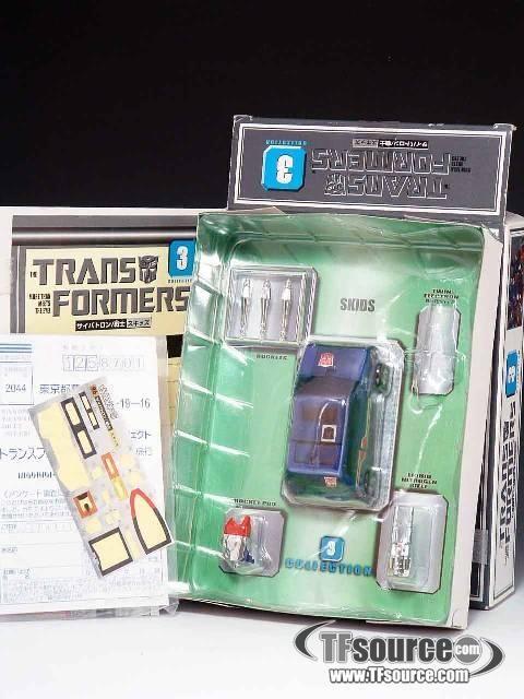 #transformer reissue - transformers collection - tfc #3 skids - mib
