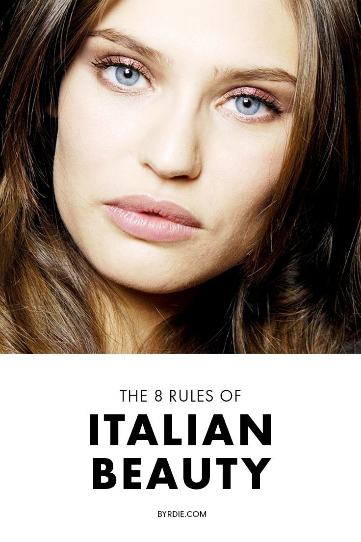 An Italian model spills her fascinating beauty secrets