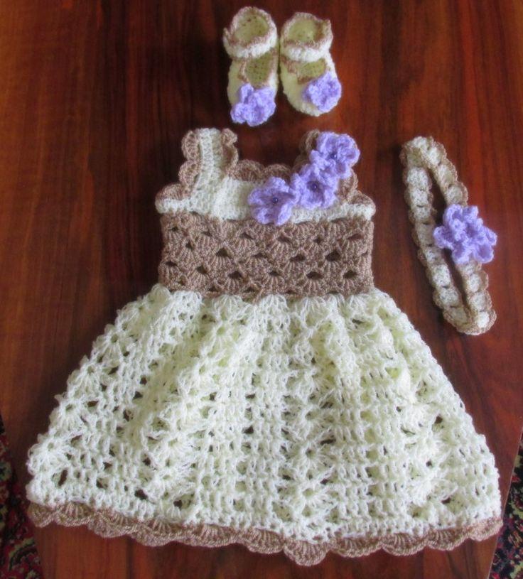 Handmade Cream Dress set