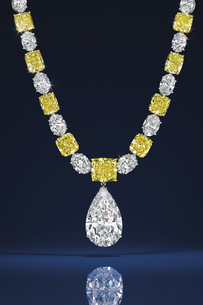 A piece of jewelry to be auctioned off in Christie's spring Magnificent Jewels sale.  [Photo Courtesy of Christies]