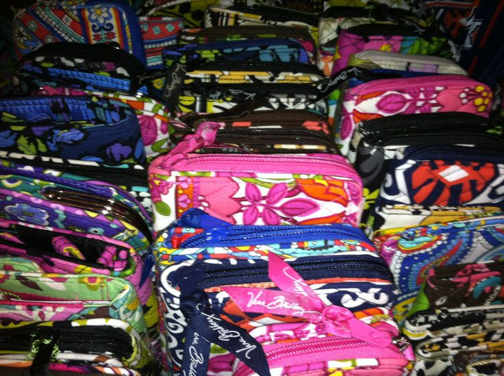 Our Vera Bradley clearance section!