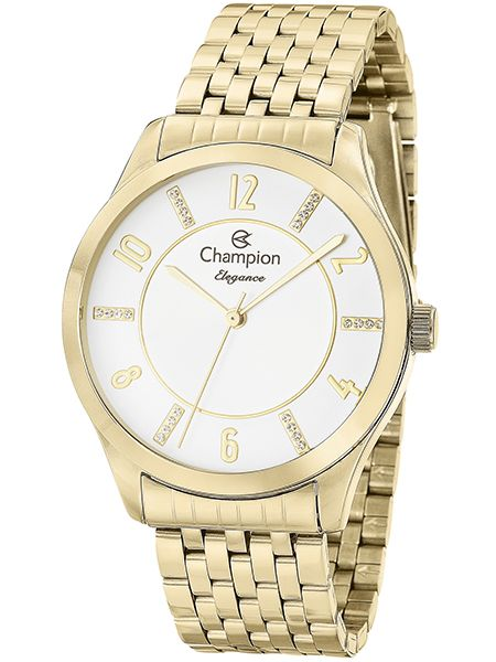 96a523ba6df Relógio Champion Elegance Feminino Dourado CN27698H