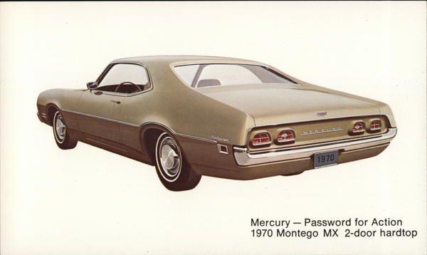 1970 Mercury Montego Cars